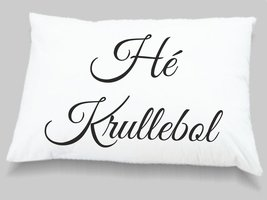 kussensloop Hé Krullebol