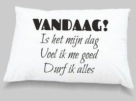 kussensloop Vandaag!