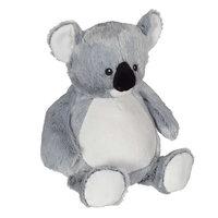 Koala met borduring op zijn buikje